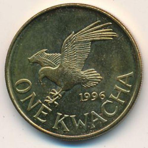 1 квача 1996 год Малави. Орлан-крикун