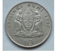 10 шиллингов 1987 год Танзания