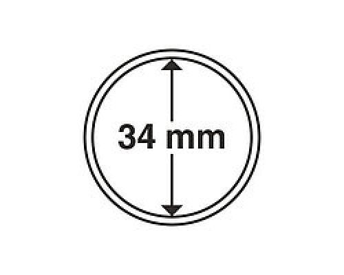 Капсула для монеты 34 мм ETALONPLUS+ (200 000 карбованцев)