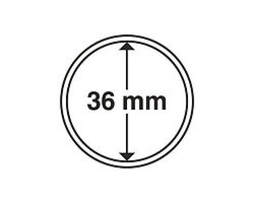 Капсула для монеты 36 мм ETALONPLUS+