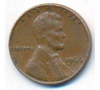 1 цент 1966 год США