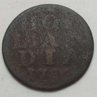 1 дуит 1780 (возможно 66) год Голландия Нидерланды