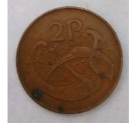 2 пенса 1971 год Ирландия