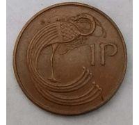 1 пенни 1978 год Ирландия