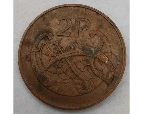 2 пенса 1980 год Ирландия