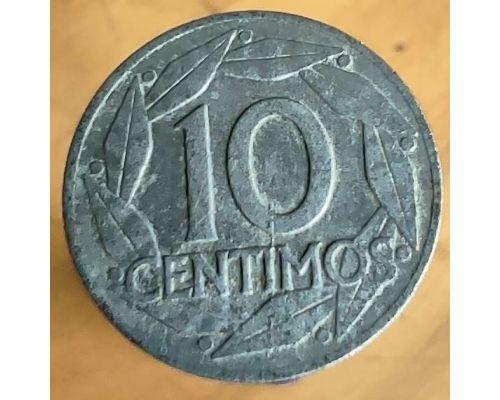 10 сентимо 1959 год Испания