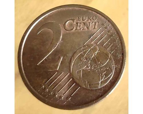 2 евроцента 2008 год Испания