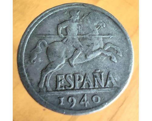 10 сентимо 1940 год Испания