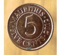 5 центов 2012 год Маврикий Сивусагур Рамгулам