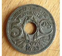 5 сентим 1923 год Франция (сантим)