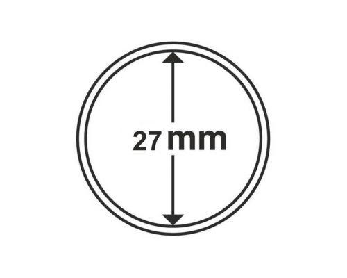 Капсула для монеты 27 мм