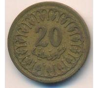 20 миллим 1960 год Тунис