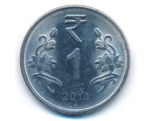 1 рупия 2013 год Индия