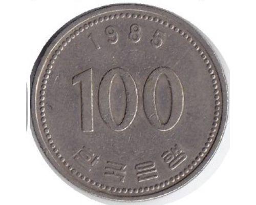100 вон 1985 год Южная Корея