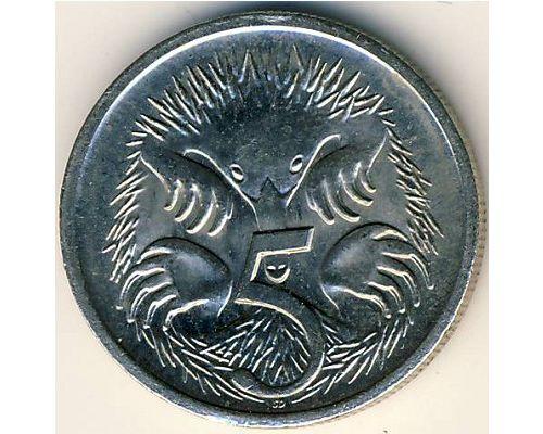 5 центов 2002 год Австралия