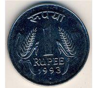 1 рупия 1993 год Индия