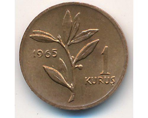 1 куруш 1965 год Турция