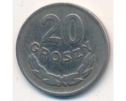 20 грошей 1949 год Польша