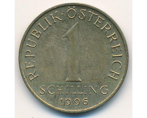 1 шиллинг 1996 год Австрия
