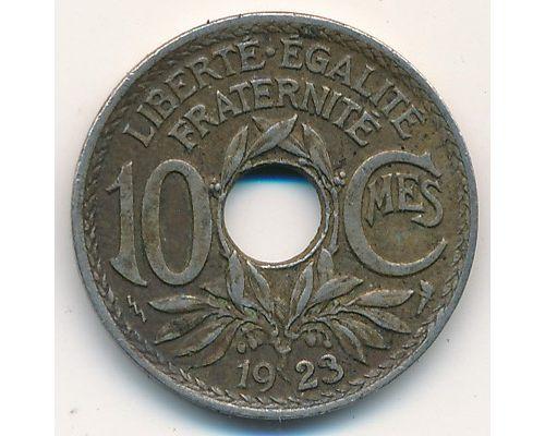 10 сентим 1923 год Франция