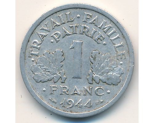 1 франк 1944 год Франция