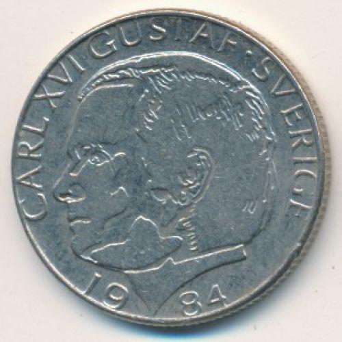 1 крона 1984 год Швеция
