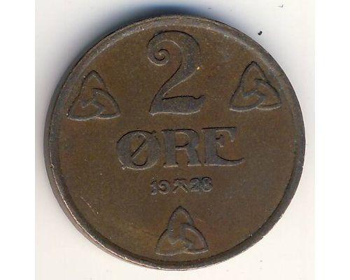 2 эре 1928 год Норвегия