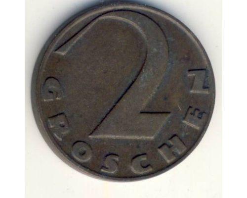 2 гроша 1930 год Австрия