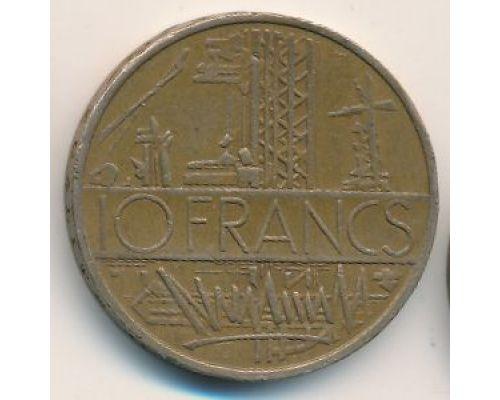 10 франков 1980 год Франция
