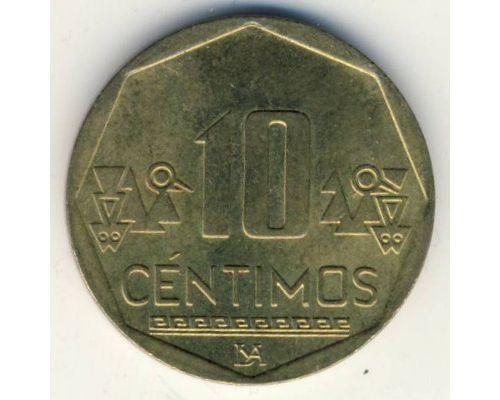 10 сентимо 2012 год Перу