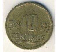 10 сентимо 2007 год Перу