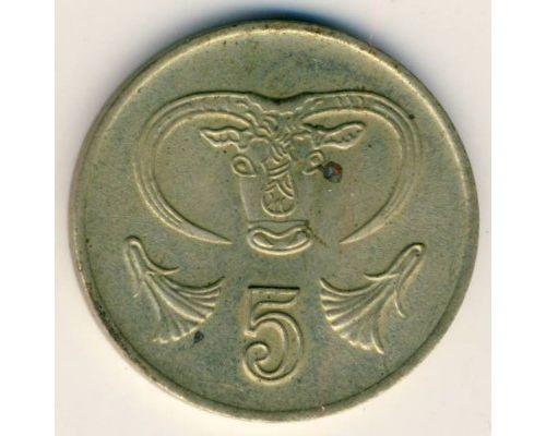 5 центов 1985 год Кипр