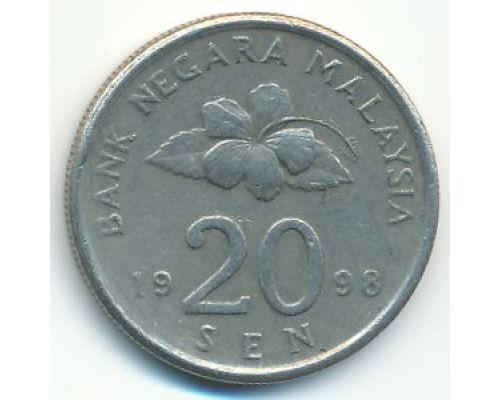 20 сен 1998 год Малайзия