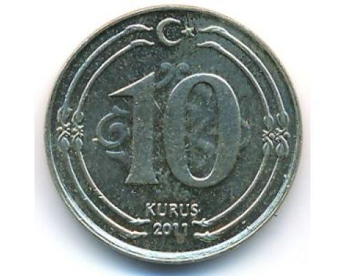 10 куруш 2011 год Турция