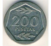 200 песет 1987 год Испания