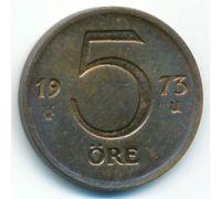 5 эре 1973 год Швеция
