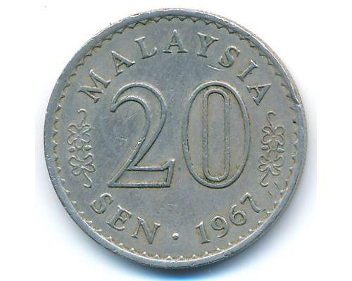 20 сен 1967 год Малайзия