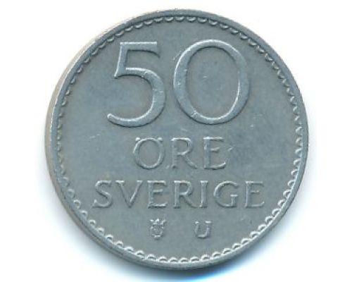 50 эре 1973 год Швеция