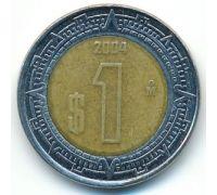 1 новый песо 2004 год Мексика