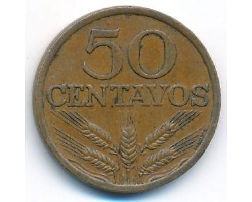 50 сентаво 1974 год Португалия