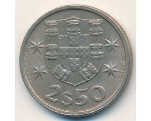 2,5 эскудо 1979 год Португалия