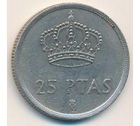 25 песет 1982 год Испания