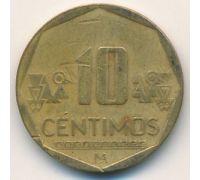 10 сентимо 2009 год Перу