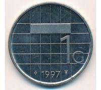 1 гульден 1997 год Нидерланды