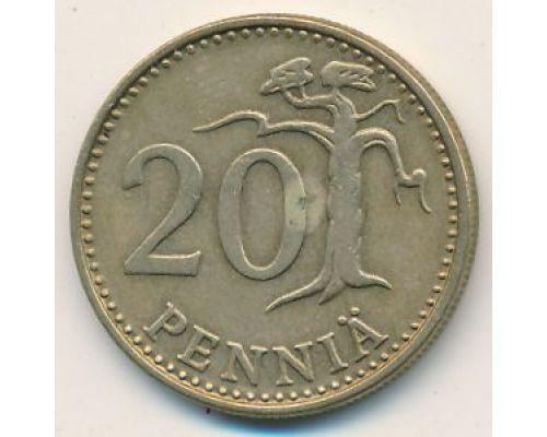 20 пенни 1974 год Финляндия