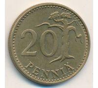 20 пенни 1989 год Финляндия