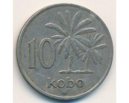 10 кобо 1973 год Нигерия