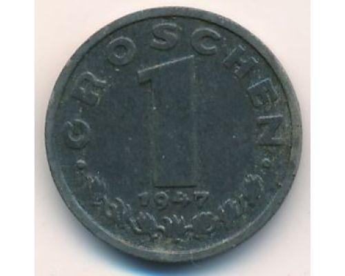 1 грош 1947 год Австрия