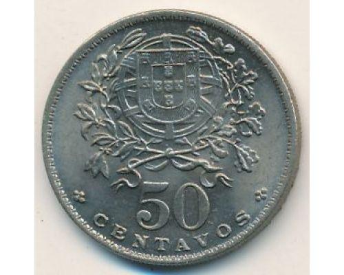 50 сентаво 1968 год Португалия
