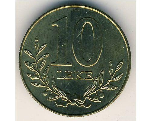 10 лек 1996 год Албания